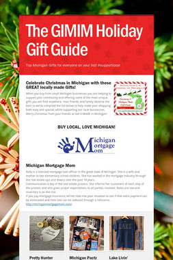 The GIMIM Holiday Gift Guide