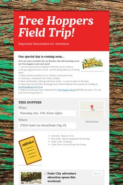Tree Hoppers Field Trip!
