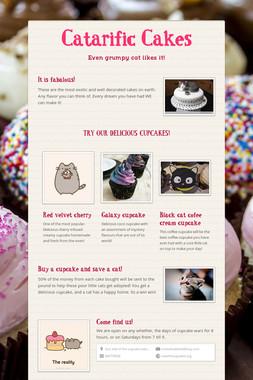 Catarific Cakes