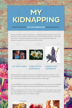 My Kidnapping