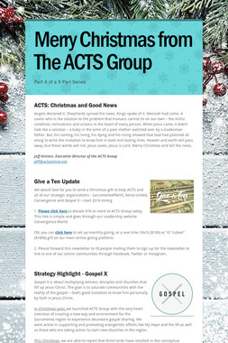 Merry Christmas from The ACTS Group