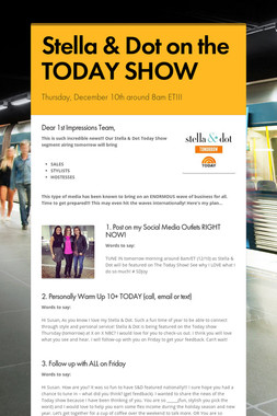 Stella & Dot on the TODAY SHOW