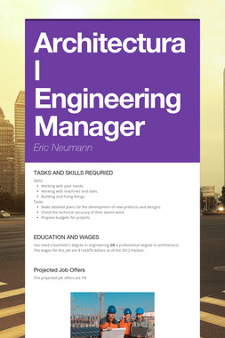 Architectural Engineering Manager