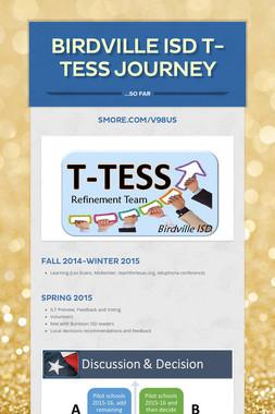 Birdville ISD T-TESS Journey