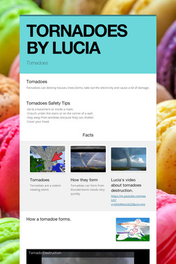 TORNADOES BY LUCIA