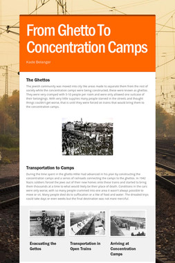 From Ghetto To Concentration Camps