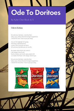 Ode To Doritoes