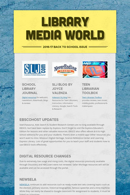 Library Media World