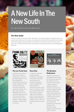 A New Life In The New South