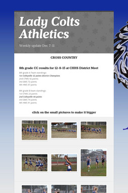 Lady Colts Athletics