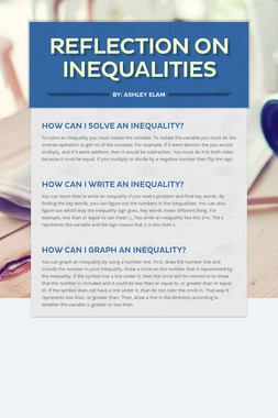Reflection on Inequalities