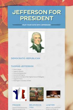 Jefferson For President