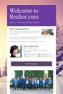 Welcome to Realtor.com