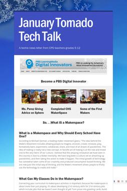 January Tornado Tech Talk