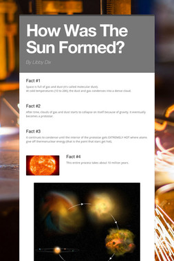 How Was The Sun Formed?