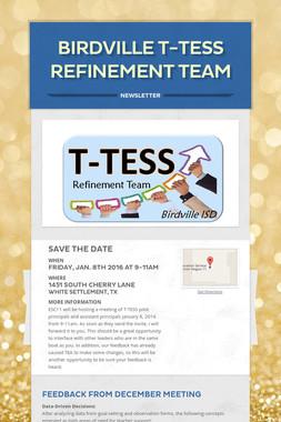 Birdville T-TESS Refinement Team