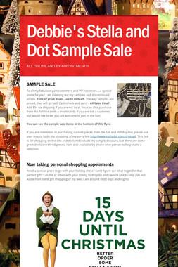 Debbie's Stella and Dot Sample Sale