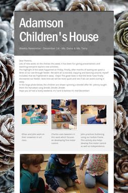 Adamson Children's House