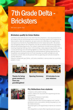 7th Grade Delta - Bricksters