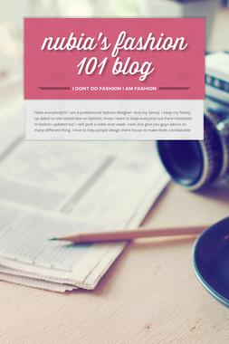 nubia's fashion 101 blog