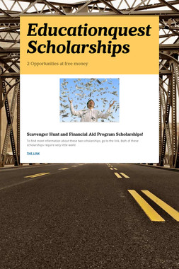 Educationquest Scholarships