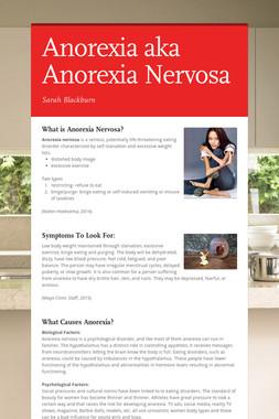 Anorexia aka Anorexia Nervosa
