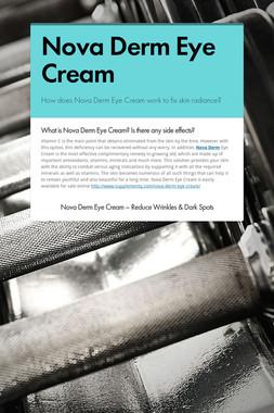 Nova Derm Eye Cream