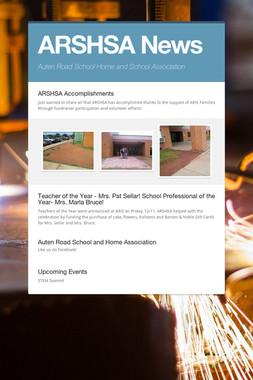 ARSHSA News
