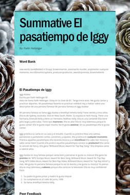 Summative El pasatiempo de Iggy