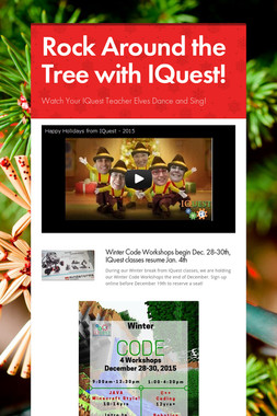 Rock Around the Tree with IQuest!