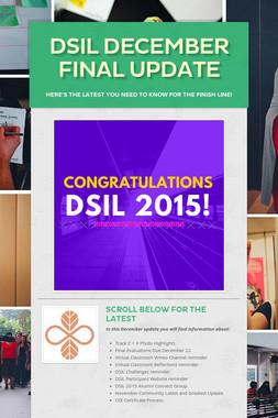 DSIL December Final Update