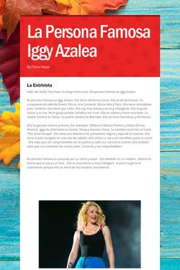 La Persona Famosa Iggy Azalea