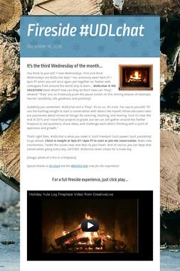 Fireside #UDLchat