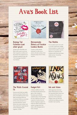 Ava's Book List