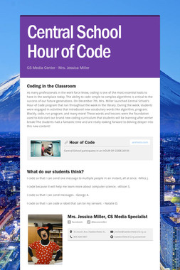 Central School Hour of Code