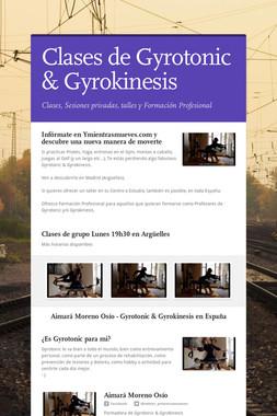 Clases de Gyrotonic & Gyrokinesis