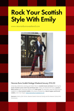 Rock Your Scottish Style With Emily
