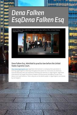 Dena Falken EsqDena Falken Esq