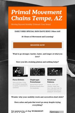Primal Movement Chains Tempe, AZ