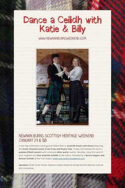 Dance a Ceilidh with Katie & Billy
