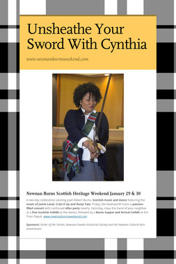 Unsheathe Your Sword With Cynthia