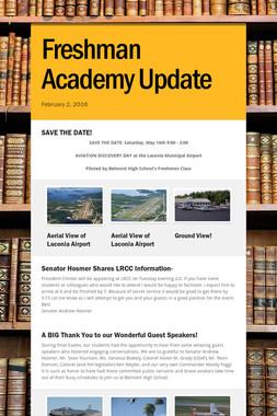 Freshman Academy Update