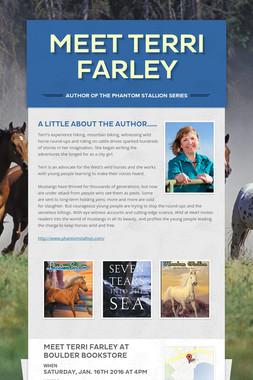 Meet Terri Farley