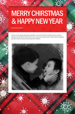 MERRY CHIRSTMAS & HAPPY NEW YEAR