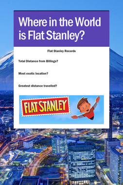 Where in the World is Flat Stanley?