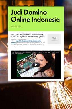 Judi Domino Online Indonesia