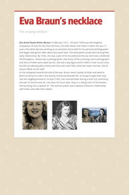 Eva Braun's necklace