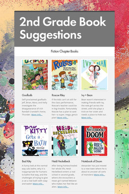 2nd Grade Book Suggestions