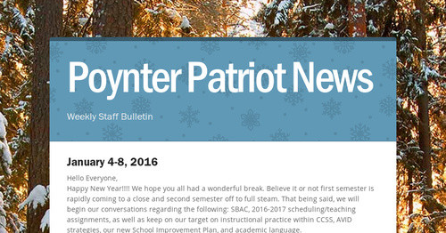 poynter patriot news smore newsletters for business