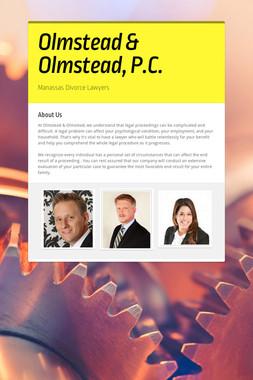 Olmstead & Olmstead, P.C.